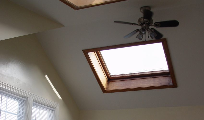 skylight installation